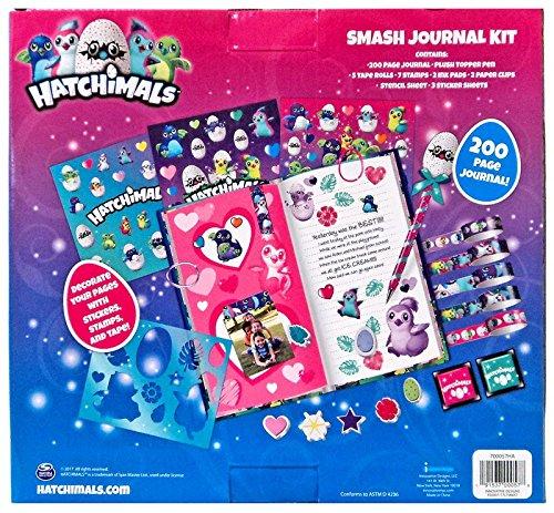Hatchimals Smash Journal Kit Stamps/Stickers