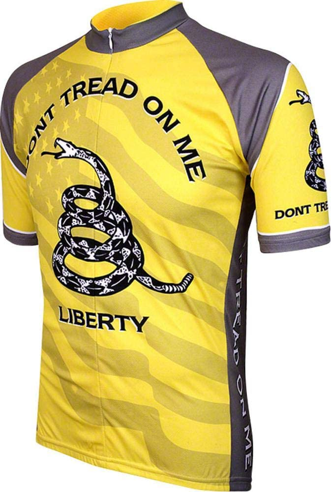 Dont Tread on Me Mens Cycling Jersey bike bicycle