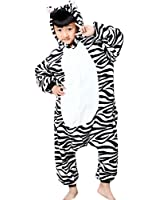 JT-Amigo - Pigiama Tutina Costume Animale - Bambina e Bambino - Dinosauro Verde, 6-8 Anni