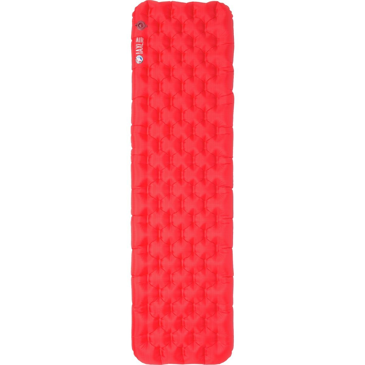 Big Agnes Insulated AXL Air Inflatable Sleeping Pad B0757TN3MY 25x78 WIDE LONG|レッド レッド 25x78 WIDE LONG