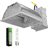 VIVOSUN 315W Ceramic Metal Halide CMH/CDM Grow Light Kit, ETL Listed, High-Reflectivity Vega Aluminum Hood, 120/240V…