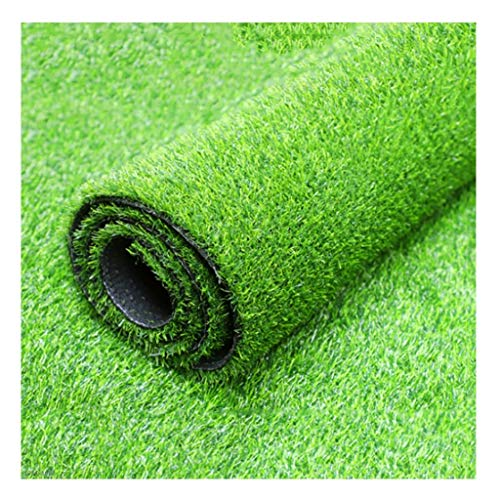 YNFNGXU 25mm Pile High Encryption Artificial Grass Mat 2x1m Fruit Business Outdoor Fake Lawn (Color : Spring Grass, Size : 2x2m)
