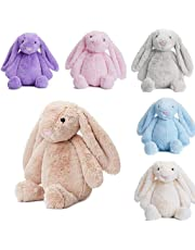 KOKOBUY 1PC Animal Rabbit Doll Plush Toy Baby Kids Sleeping Soft Comfort Stuffed Toy Gifts 10 inch