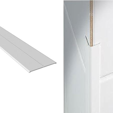 Ecke Wand Schutz Schutz Weisser Kunststoff Flexi Winkel 15mm X 15mm X 2 5m Amazon De Kuche Haushalt