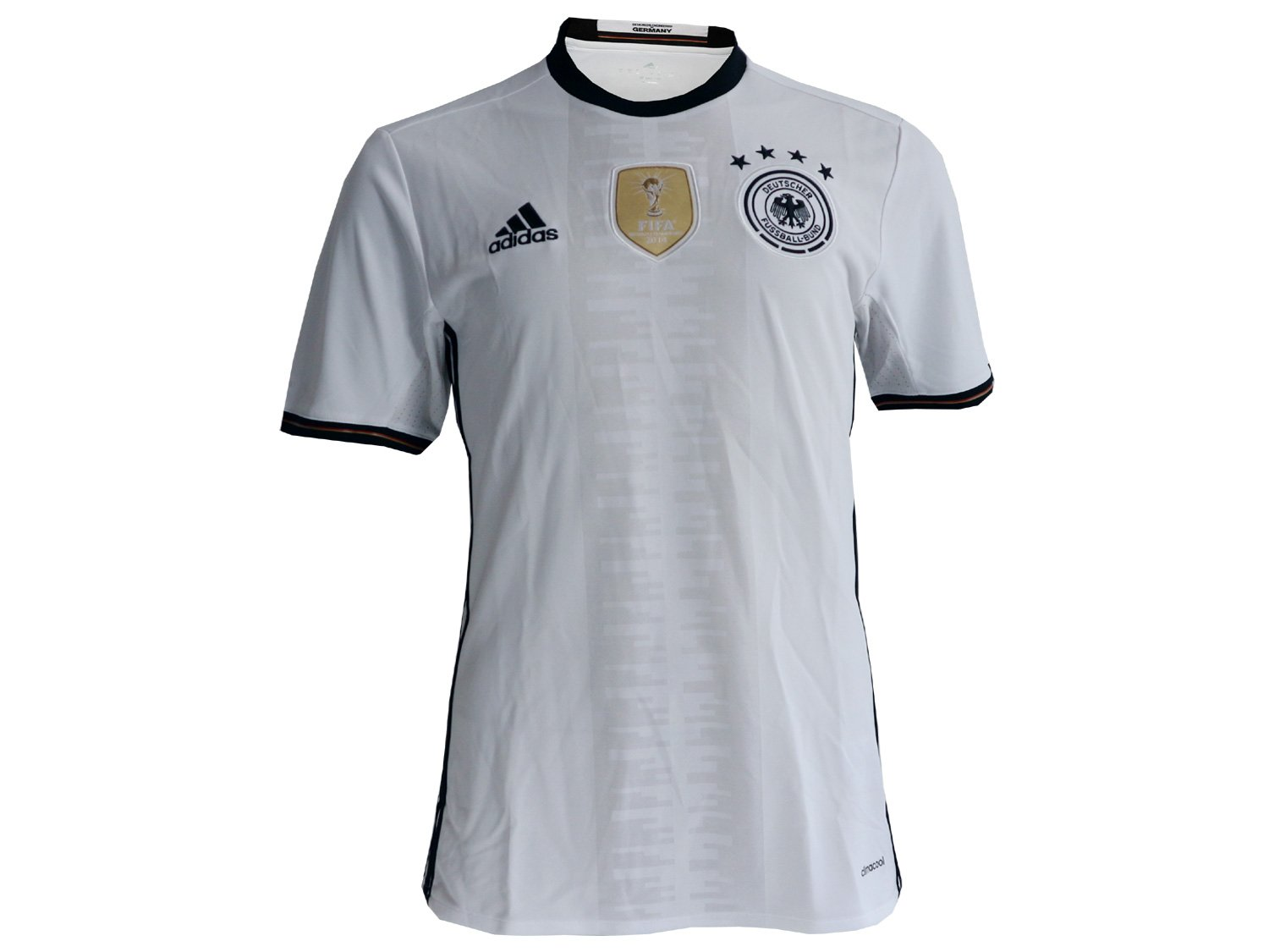 679444cee adidas Men s DFB H 2016 Germany Home Jersey Blue White Negro