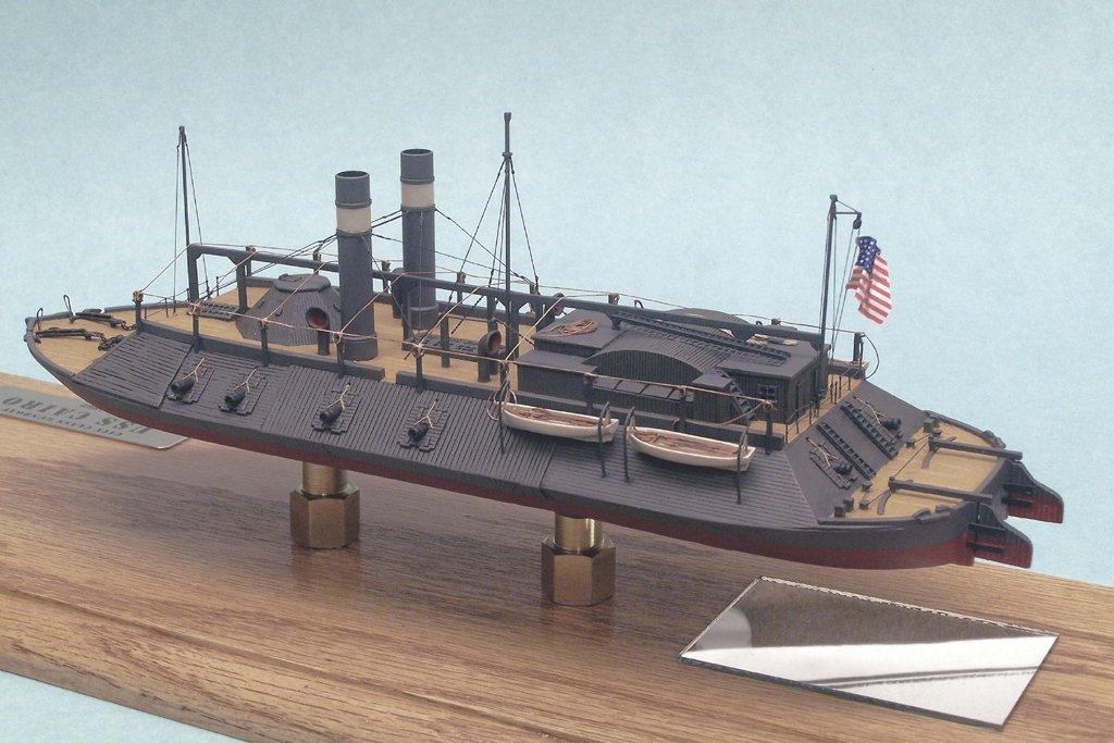 Amazon.com: Escala 1/192 USS el Cairo; Guerra Civil Río Gun ...