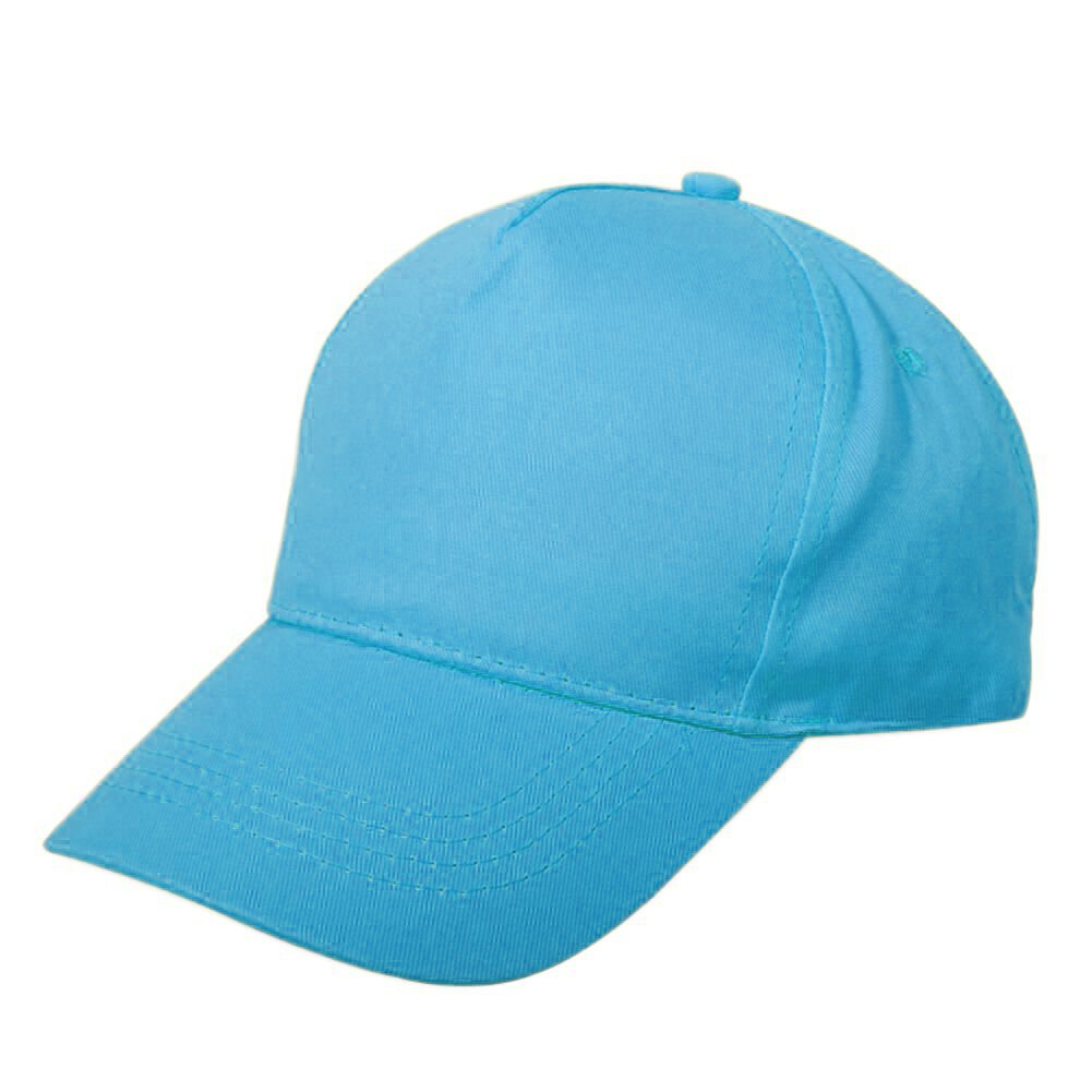 Opromo Kids Two Tone Baseball Cap, Adjustable Hat, Comes in Different Colors-Blue-48PCS by Opromo