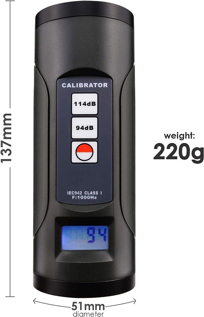 94Db // 114Db Nd9a Ton Geräuschpegel Meter Kalibrator Neu X