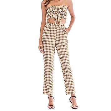Amazon.com: Conjunto de 2 piezas de vestidos de mujer para ...