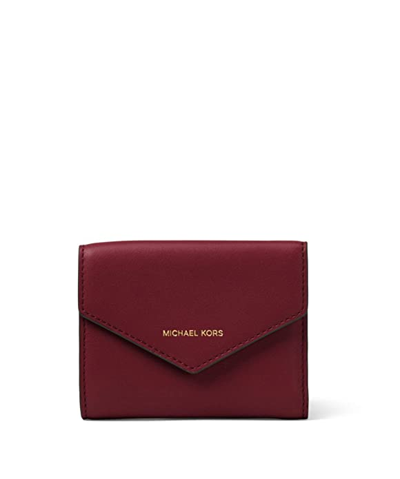 3e240457c723e MICHAEL Michael Kors Women s Blakely Small Leather Envelope Wallet Red One  Size  Amazon.co.uk  Shoes   Bags