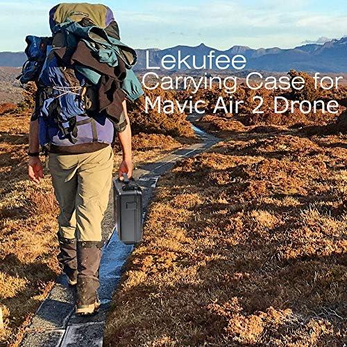 LEKUFEE Valise de Rangement pour DJI Mavic Air 2 et d'accessoires Mavic Air 2