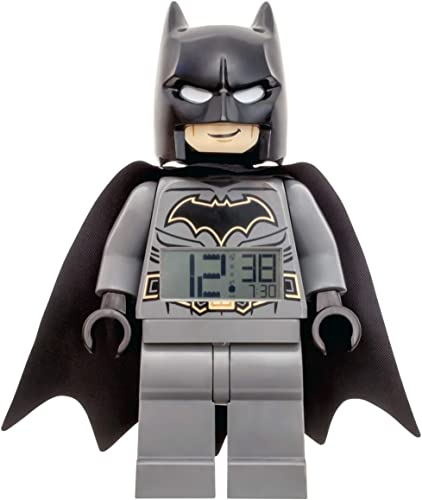 LEGO Alarm Clock, Black, 9 Inches