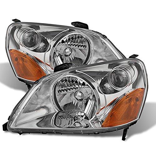 ACANII - For 2003 2004 2005 Honda Pilot Headlights Headlamps Replacement 03-05 Driver + Passenger Side ()