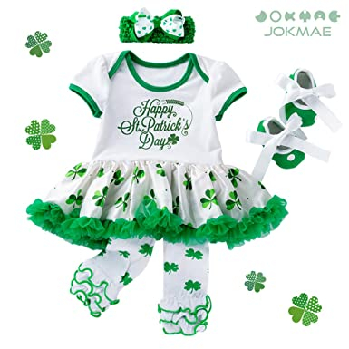 Baby Girls St Patricks Day Outfit