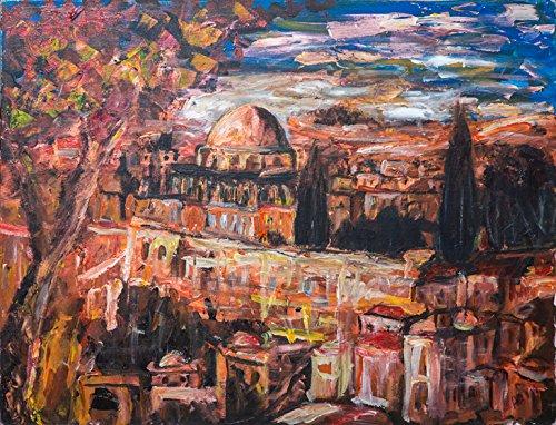 - Jerusalem in Earth Tones (15x21 in.)