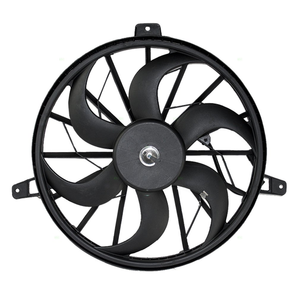 Radiator Cooling Fan Blade with Motor Replacement for Jeep SUV 52079528AB AUTOANDART