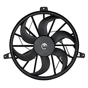 Radiator Cooling Fan Blade with Motor Replacement for Jeep Grand Cherokee Liberty SUV 52079528AB