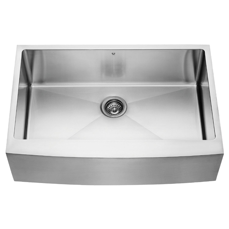 Vigo VGR3320C Single Bowl Kitchen Sink Review - Uncle Paul\'s Kitchen