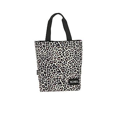 Bolso de mano para mujer, diseño de Animal marca MOOS flores