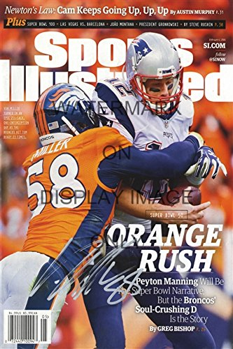 Von Miller Sports Illustrated Autograph Replica Poster - 2015 Champs!