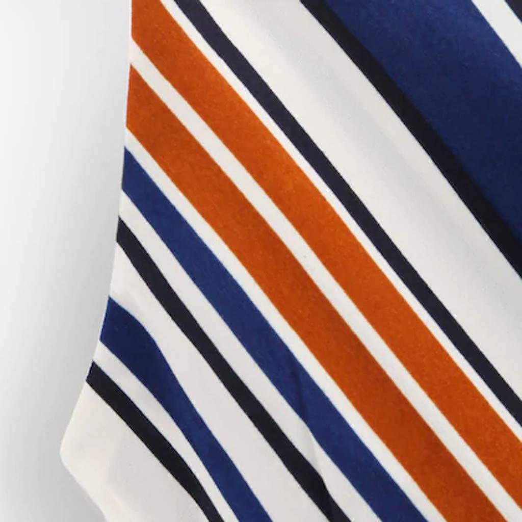 SEWORLD Oberteil Bluse Kleid Damen Freizeit Damen Langarm Sommerkleid Frauen Self R/ückenausschnitt mit V-Ausschnitt Snake Drucken Camisole Tank Bluse Tops