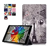 LG G PAD X 8.0 / G Pad III 8.0 Case, WITCASE LG G PAD X 8.0 Case - Ultra Lightweight Slim Smart Cover Case-for LG G Pad X 8.0 (T-Mobile V521WG) / G Pad III 8.0 V525 8-Inch Tablet 2016 Released (Tower)