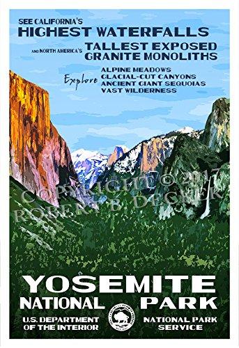 yosemite poster large