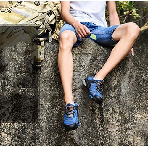 ハイキングシューズ レースアップ メンズ 水陸両用シューズ トレッキングシューズ 登山靴 四季通用 柔軟性 通気性 耐震 抗菌 アウトドア 滑りにくい スポーツ ローカット 春 夏 カジュアル キャンプ シューズ