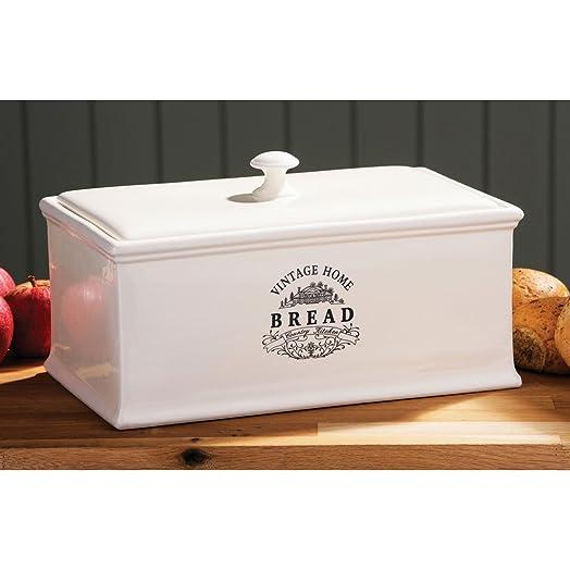 ... Cream Ceramic Bread Bin Vintage Home Stylish Bread Storage Bin  sc 1 st  letheacoudre.com & Ceramic Bread Box - letheacoudre.com Aboutintivar.Com