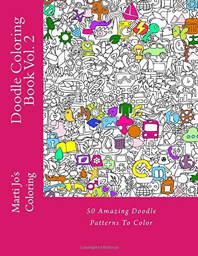 Doodle Coloring Book Vol. 2 ebook