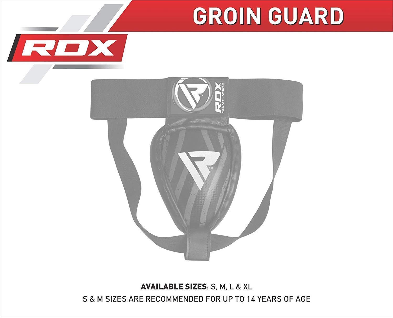 RDX MMA Tiefschutz Kampfsport Boxen Herren Suspensorium Unterleibschutz Karate Kickboxen