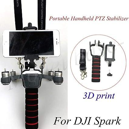 3D Impresión de Mano para DJI chispa PTZ Mano modificación kit portátil de Mano estabilizador PTZ