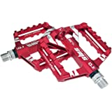 Pédales de Vélo de Montagne Aluminium scellé Roulement essieu Plate-Forme de Support en Alliage d'