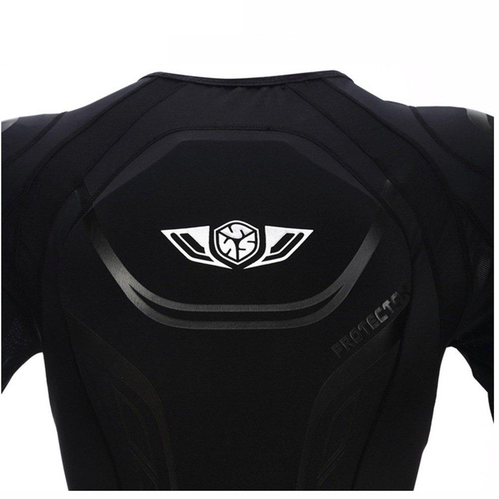 Scoyco AM03 Men's Motorcycle Motocross Racing Protective Gear Jacket Armor (L) by SCOYCO (Image #4)