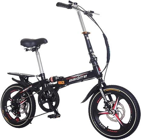 WFIZNB Bicicleta de Montaña Ligera de 20 Pulgadas Outroad, Mini ...