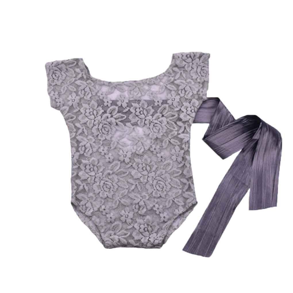 Arichtop Neugeborene Fotografie Requisiten Baby Lace Romper Studio Fotografie Zubeh/ör Zur/ück Krawatte M/ädchen Outfit