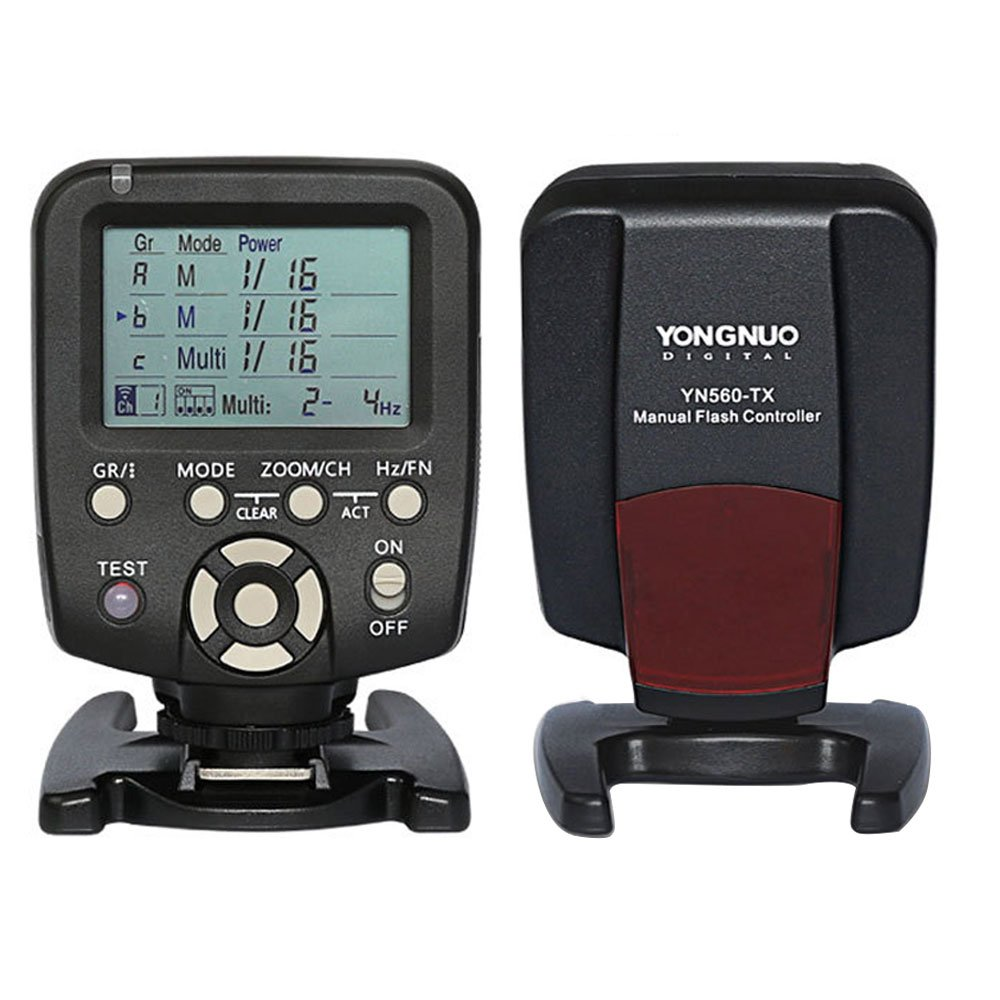YONGNUO 560 TX Manual Flash Controller Transmitter LCD Wirelss Trigger Remote for YN-560 III YN560 IV, RF-602 RF-603 RF-603 II Nikon Camera YN560-TX 560TX