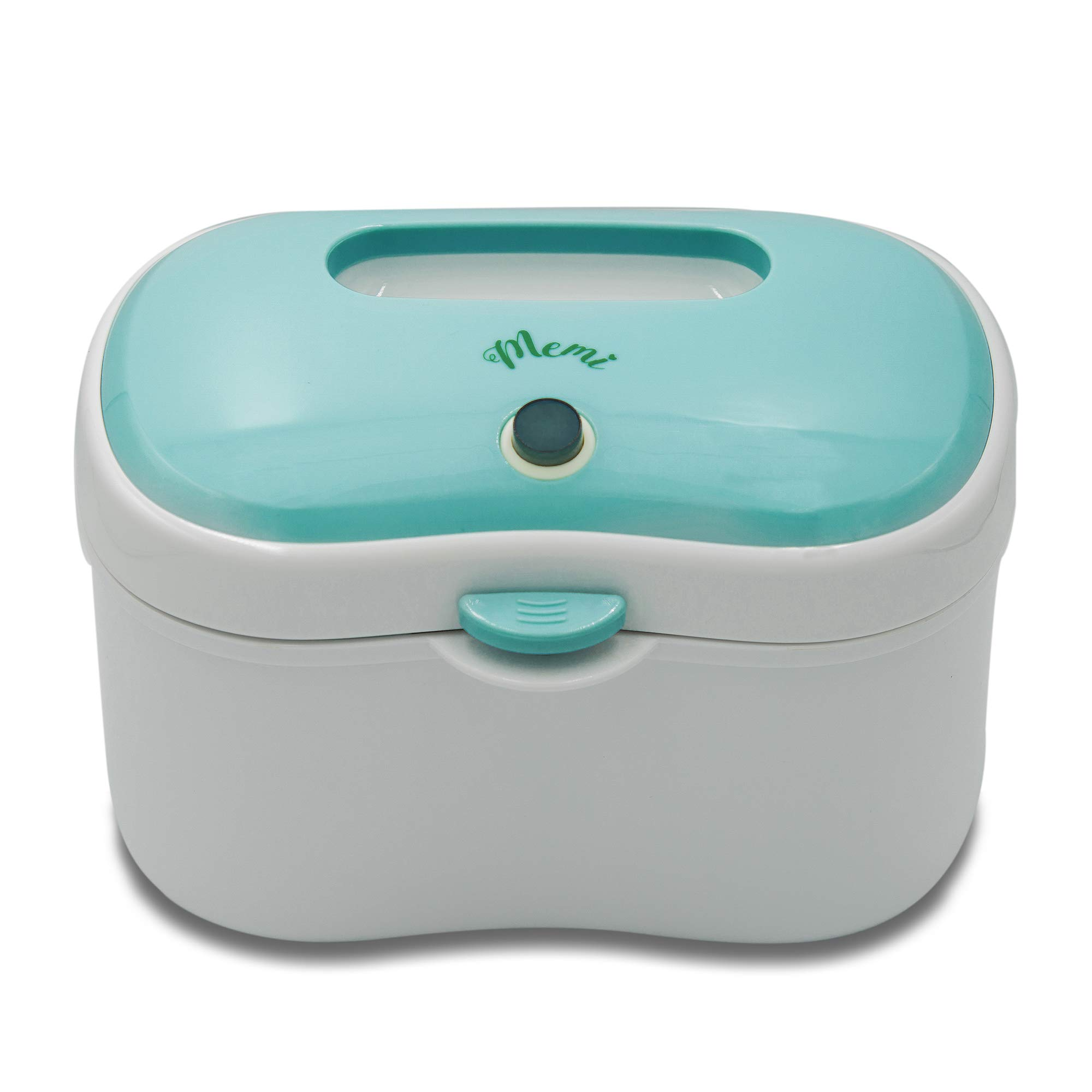(Upgraded) MEMI Dreamy Wipes Warmer | Holder | Easy-USE | Perfect Gift |(Sky Blue) by MEMI