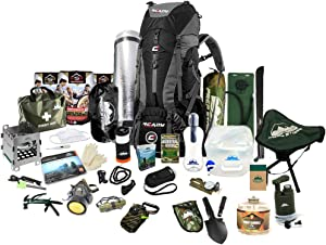 Prep Store - Quick Plus - Emergency Survival Pack - 48 Hr. Food Supply - Survival Kit - Bugout Bag - Hurricane Emergency Kit - Survival Bag - Bug Out Bag (Quick Plus Kit)