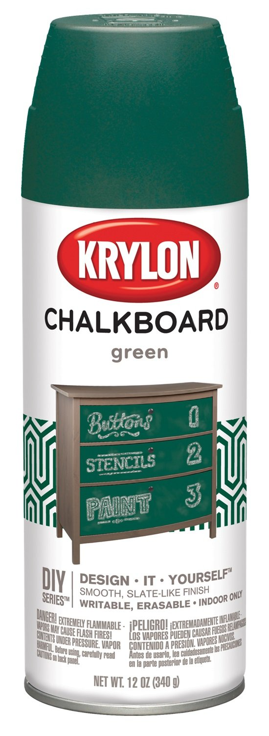 Perfect Amazon.com: Krylon I00807 Chalkboard Aerosol Spray Paint, 12-Ounce  BW97