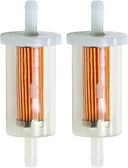 Amazon.com : Hipa 2 Pack 695666 Fuel Filter for 845125 691035 5065 5065D  5065K 493629 MTD Craftsman Troy Bilt Lawn Mower Tractor : Garden & OutdoorAmazon.com