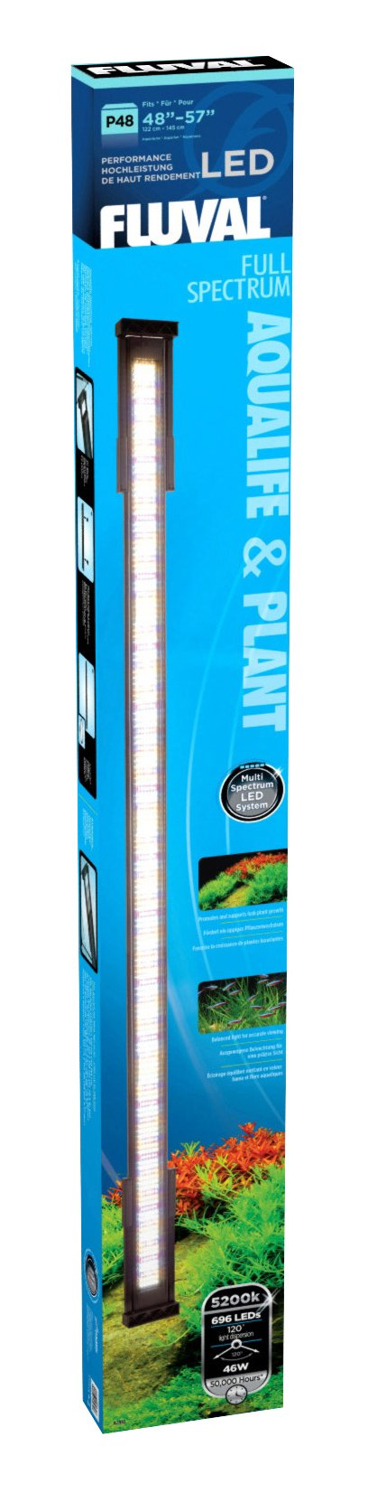 Fluval LED 48-Inch Daylight/Plant Lamp, 46-watt