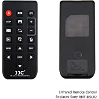 JJC Télécommande Infrarouge pour Sony Alpha A7 Series, A6500, A6300, A6000, NEX-7, NEX-6 etc. Replacement of Sony Télécommande RMT-DSLR2 & RMT-DSLR1
