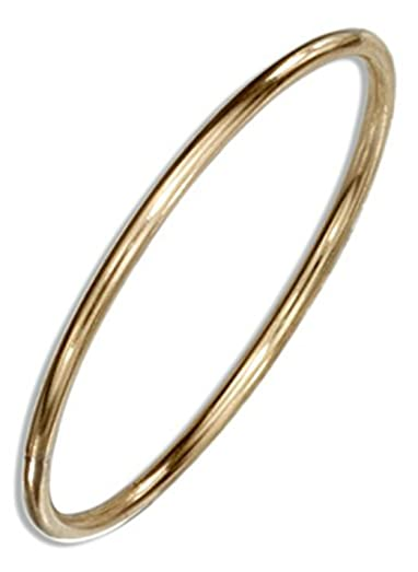 14k Gold Filled 1mm Thin Plain Band Thumb Ring Guard Amazon