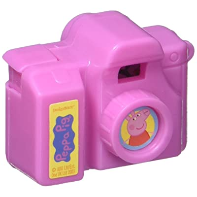 Clicking Camera Favor   Peppa Pig Collection   Party Accessory: Toys & Games