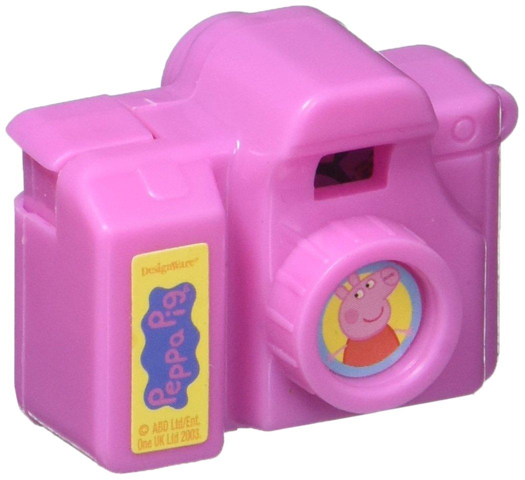 Amazon.com: Amscan Peppa Pig Birthday Party Clicking Camera Favor, 1 ...