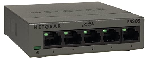81 opinioni per Netgear FS305-100PES Switch, 5porte Fast Ethernet, non schermate autosensing e