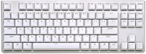 G.SKILL KM360 Professional Tenkeyless Mechanical Keyboard, Cherry MX Red, ABS Dual Injection Keycap, (White)