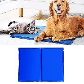 Artistic9 - Colchón de gel de refrigeración para mascotas, colchón de cama para perros,