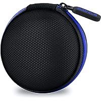 Gizga Essentials G11 Earphone Carrying Case for Earphones, Headset, Pen Drives, SD Cards (Blue)